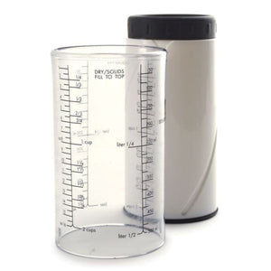 Norpro 2-Cup Measuring Cup for Wet or Dry Ingredients - Standard & Metric Measurements - Handy Housewares