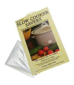 Regency Slow Cooker Savers Disposable Liners - 8 pack