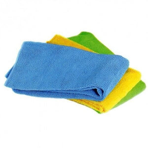 Norpro 3pc Washable Reusable Microfiber No Scratch Cleaning Cloths Towel Set