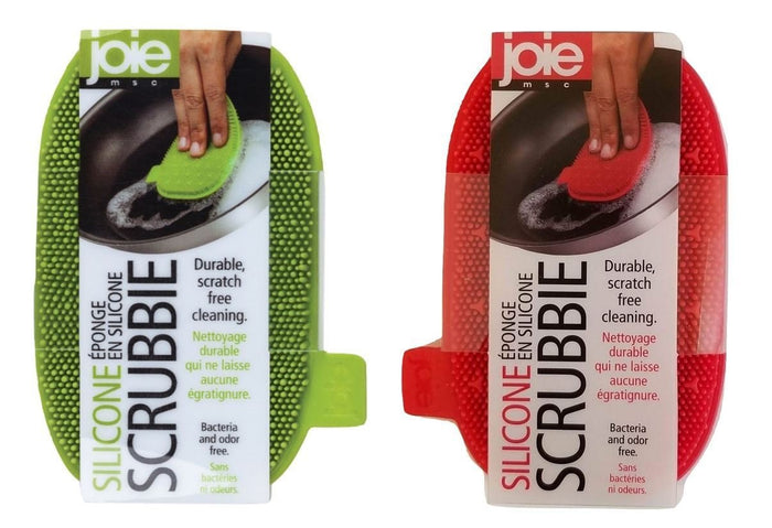 Joie Scratch-Free Antibacterial Odor-Free Flexible Silicone Kitchen Dish Scrubbie