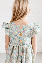 Load image into Gallery viewer, Pinafore in Pond Floral