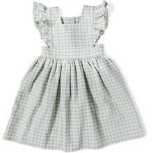 Load image into Gallery viewer, Girls Gingham PInafore