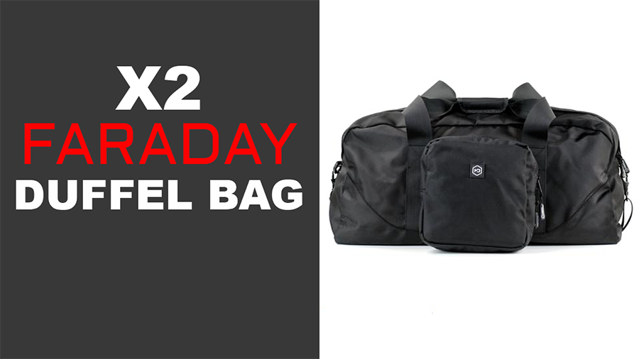 Introducing the Mission Darkness X2 Faraday Duffel Bag