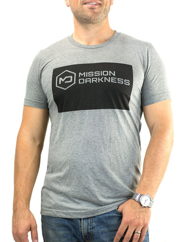 Mission Darkness™ Short Sleeve Crew Neck Tee Shirt