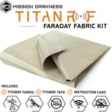 Mission Darkness™ TitanRF Faraday Fabric