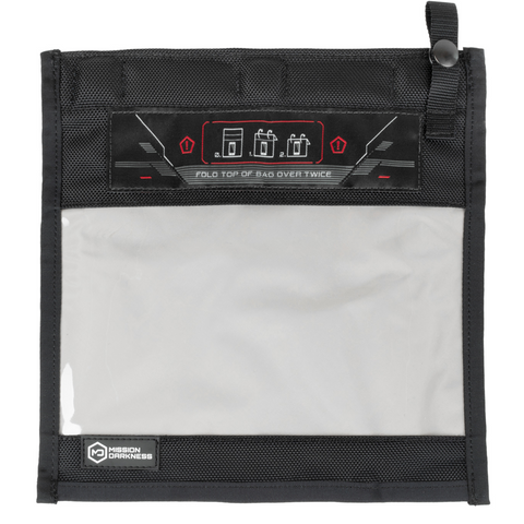 Mission Darkness™ NeoLok Window Faraday Bag for Phones