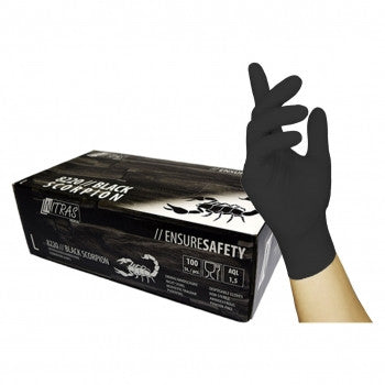 Nitras Handschuhe Latex Black