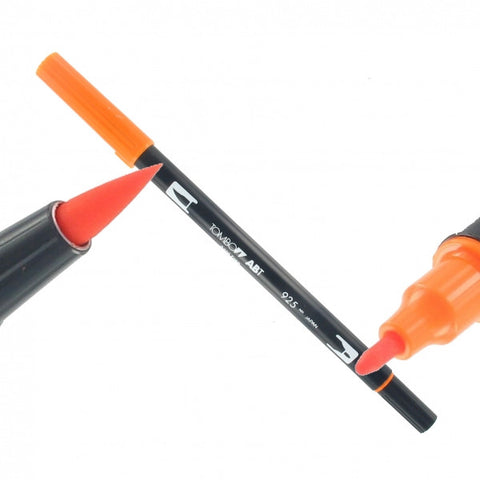Tombow Dual Brush-Pen Orange