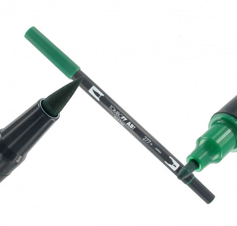 Tombow Dual Brush-Pen Dark Green
