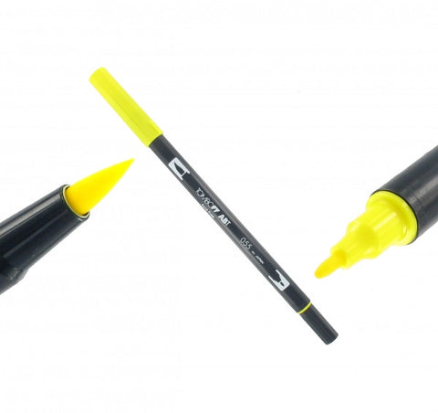 Tombow Dual Brush-Pen Process Yellow