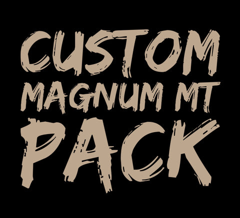 Custom Magnum Medium Taper Pack
