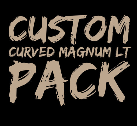 Custom Curved Magnum Long Taper Pack