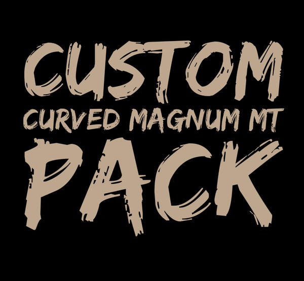Custom Curved Magnum Medium Taper Pack