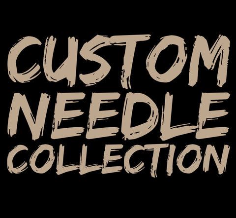 Custom Golden Heart Needle Collection