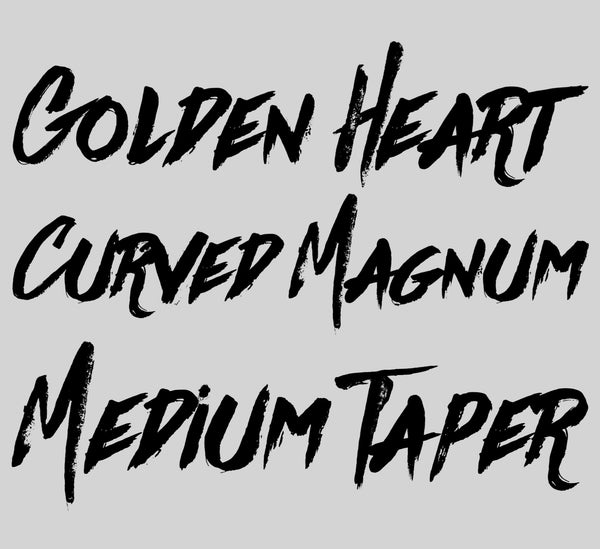 9 Curved Magnum Medium Taper