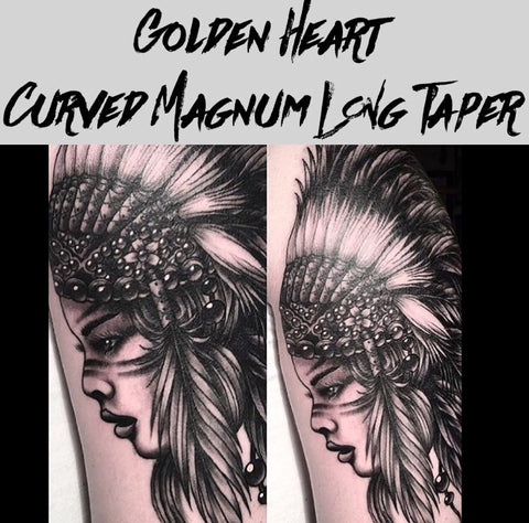 15 Curved Magnum Long Taper