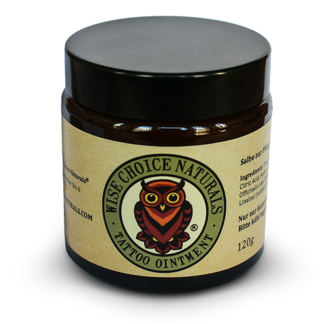 Wise Choice Naturals - Tattoo Oinment 120g