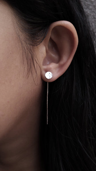 Muraco Earrings (full moon shape)
