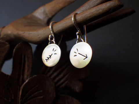 Broken Arrow Earrings