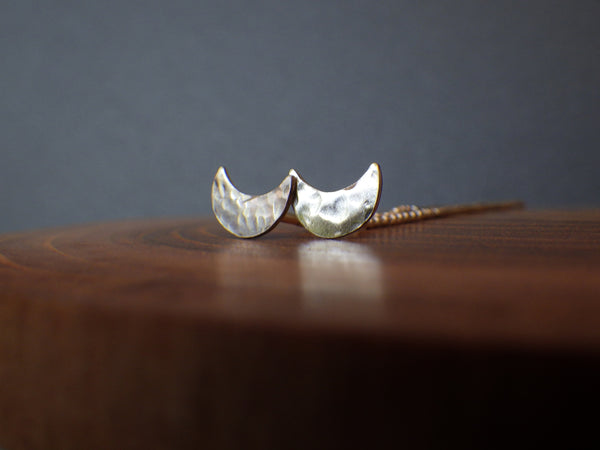 Muraco Earrings (crescent shape)