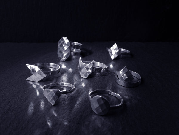 ~Crown~ phalanx ring from Silver Gem collection
