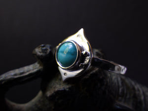 Jana Ring with Turquoise