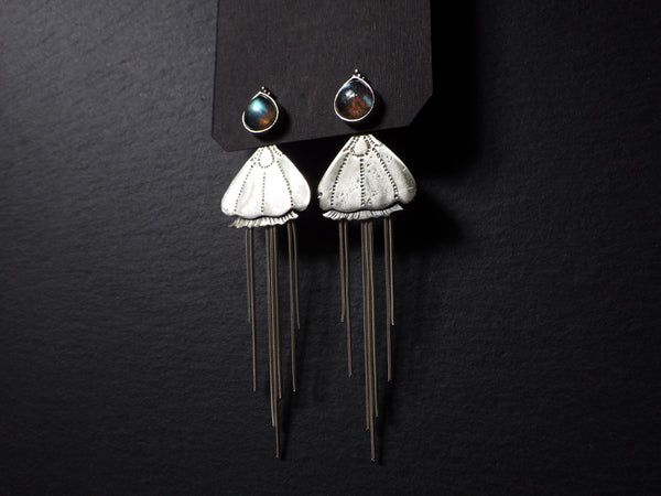 Meduza Ana Earrings with Labradorite