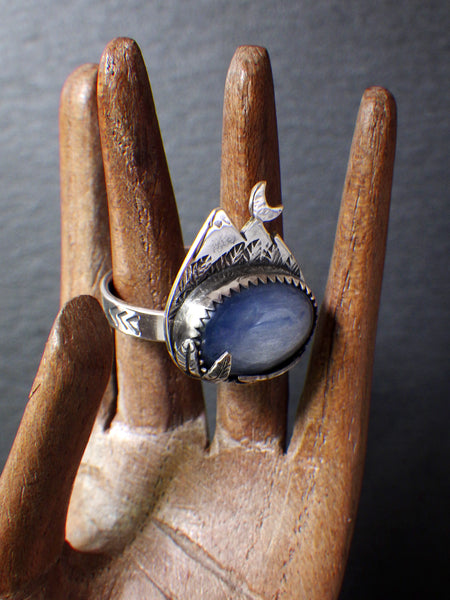 Pangea Ring with Kyanite