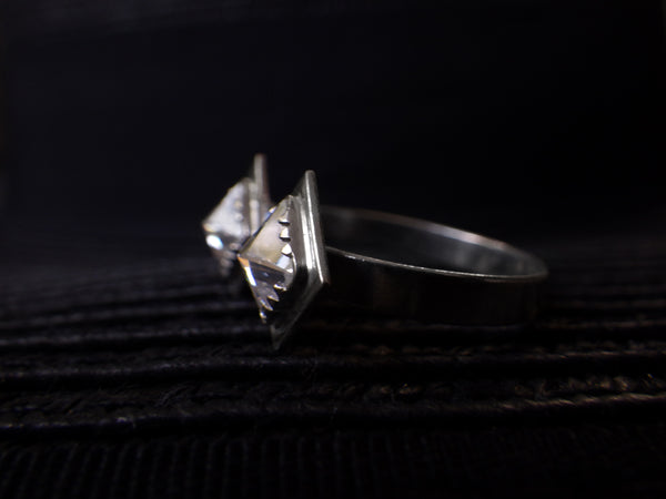 Sirius Ring with Cubic Zirconia