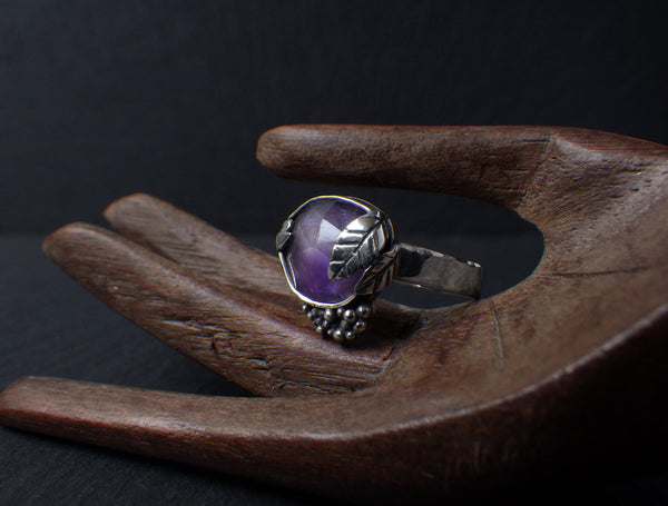 Yagoda Ring with Amethyst