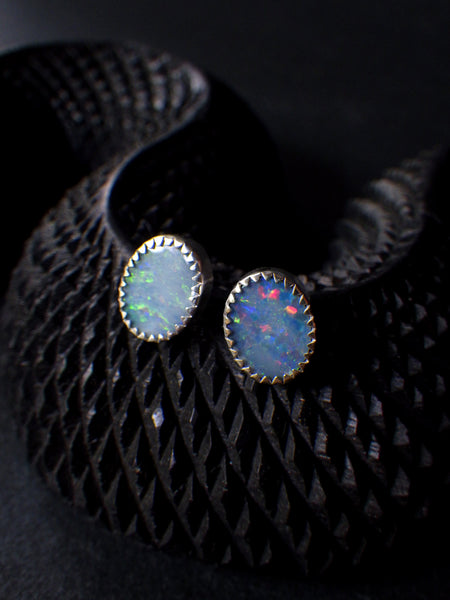 Yamur Earrings with Opals