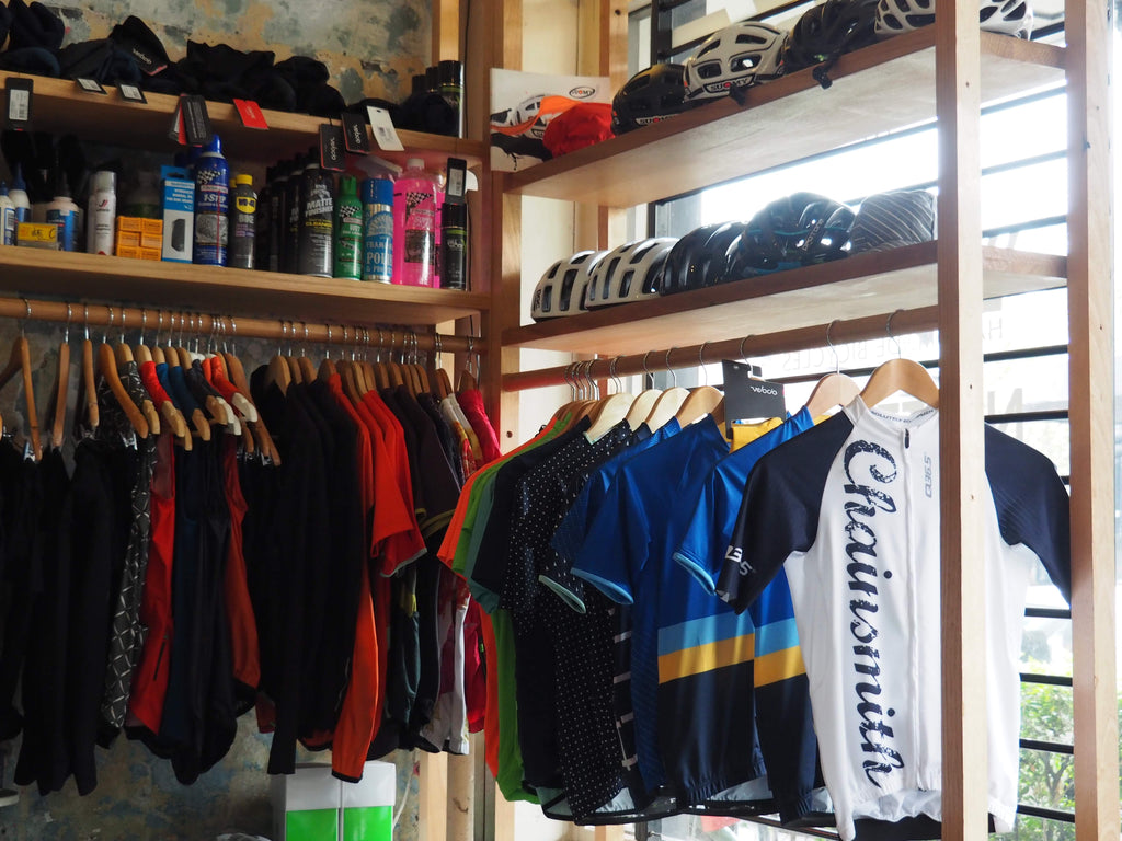 the right gear for riding a bike