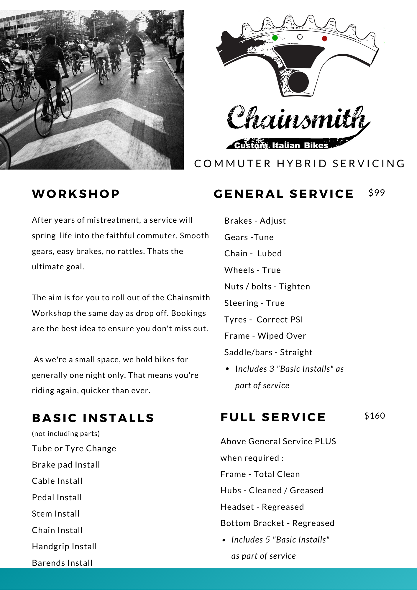 CHAINSMITH SYDNEY BEST BIKE SERVICING