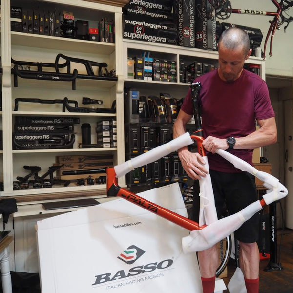 building basso palta gravel bike