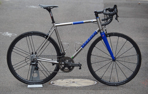 chesini custom steel bike