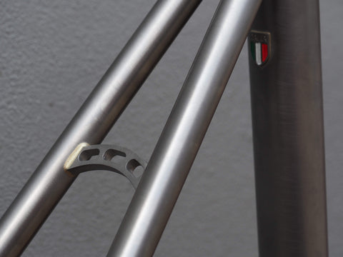 cicli barco detail italian badge custom bikes