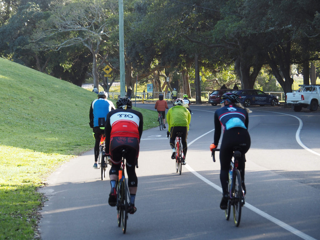 learn to bunch ride in sydney