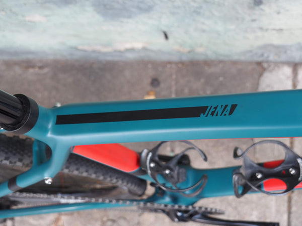 top tube of the wilier jena