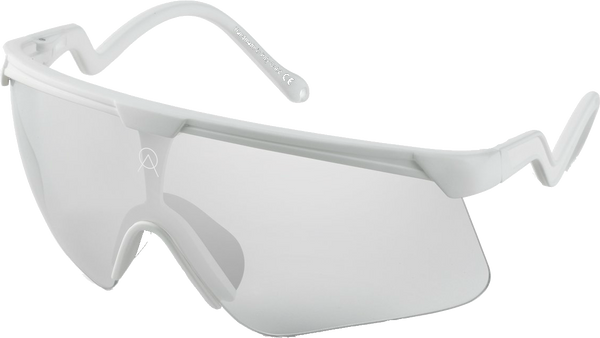 SUNGLASSES ALBA DELTA WHITE MR SILVER