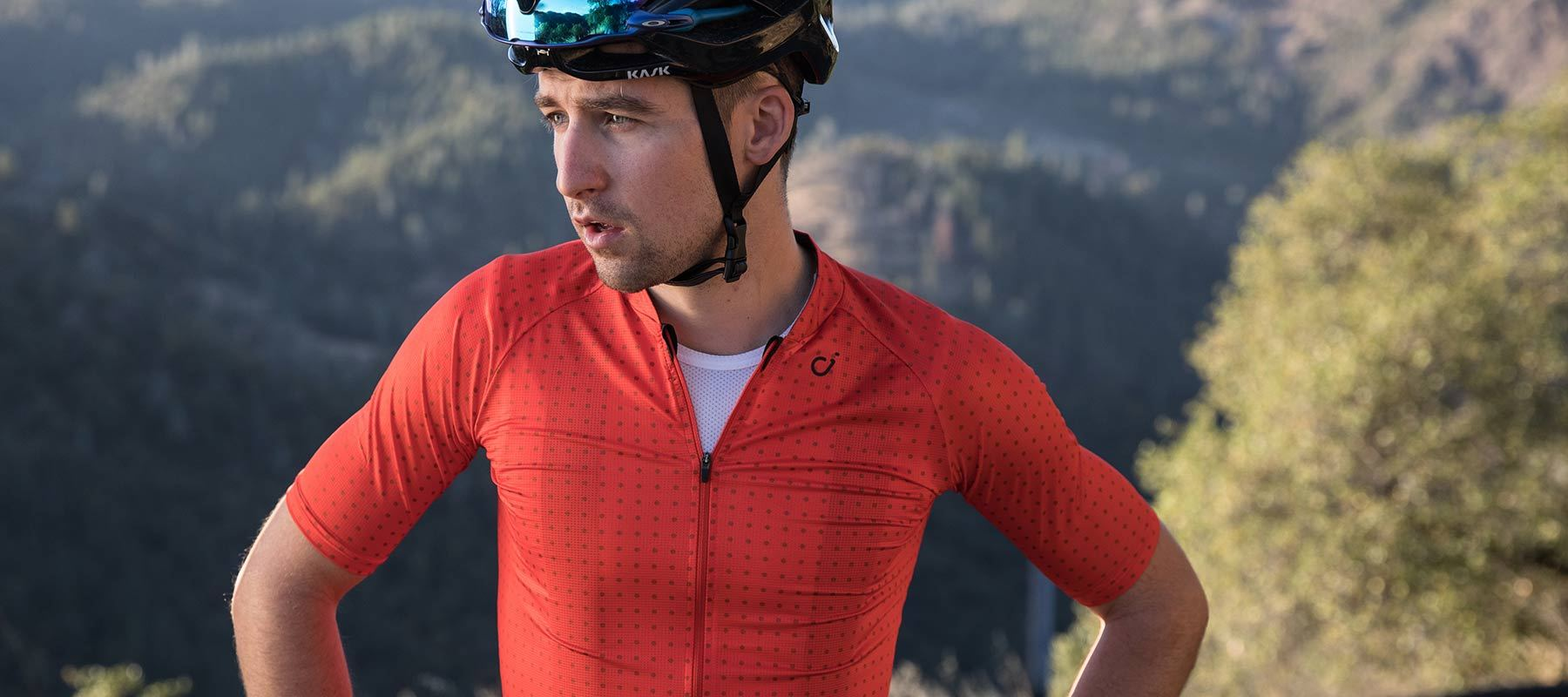 69c7334a5 VELOCIO ULTRALIGHT SUMMER MENS JERSEY FIRE RED – CHAINSMITH BIKE SHOP