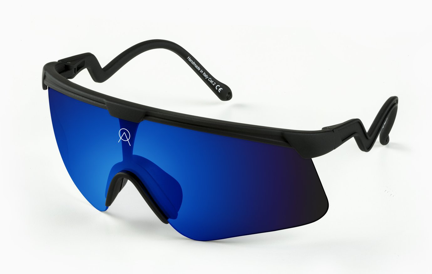 SUNGLASSES ALBA DELTA BLACK RV SKY