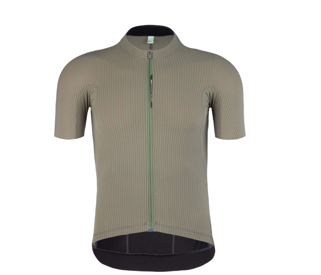Q36.5 PINSTRIPE X MENS JERSEY OLIVE - CHAINSMITH BIKE SHOP