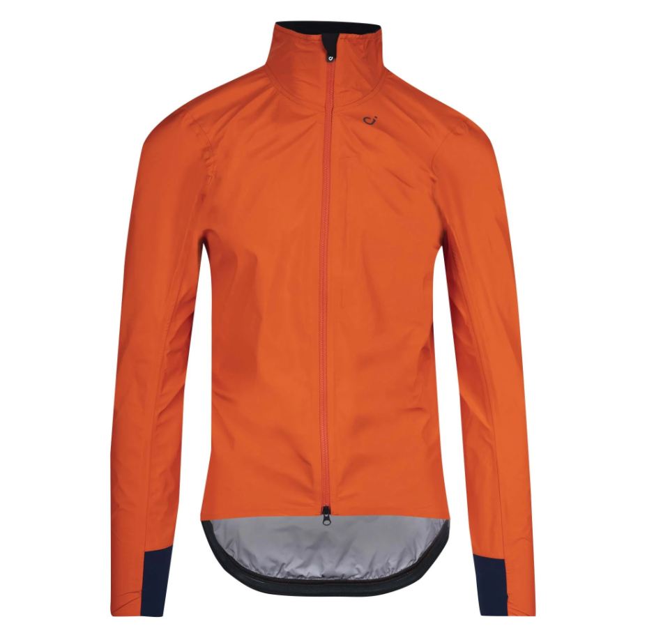 VELOCIO MENS ULTRALIGHT RAIN JACKET FIRE RED - CHAINSMITH BIKE SHOP