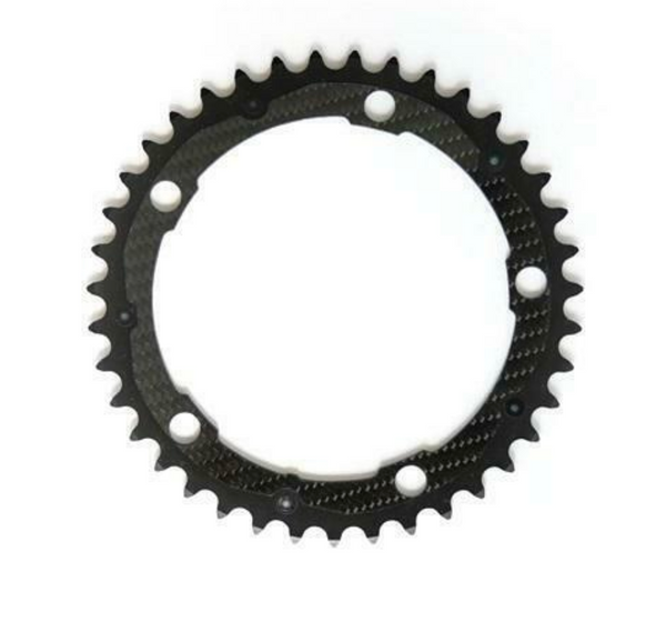 CARBON TI Chainring Inner, 5 Arm - CHAINSMITH BIKE SHOP