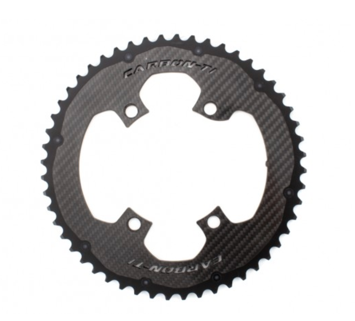 CARBON TI Chainring Outer 4 arms