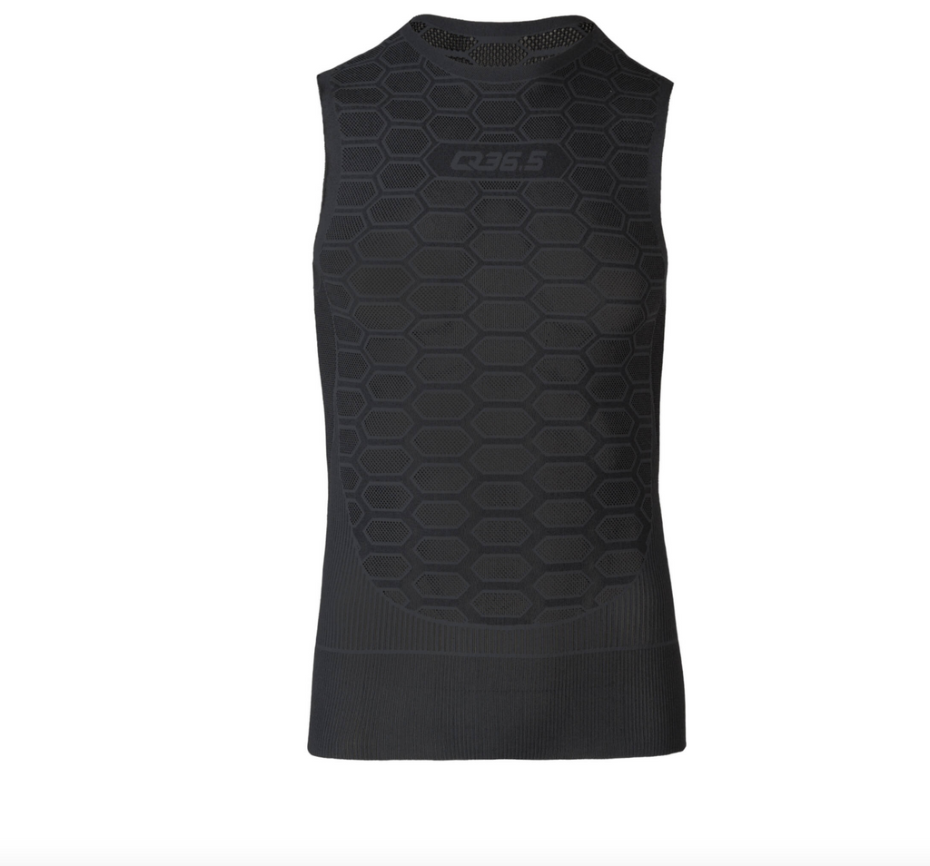 Q36.5 BASE LAYER 1 SLEEVELESS SUMMER ANTHRACITE