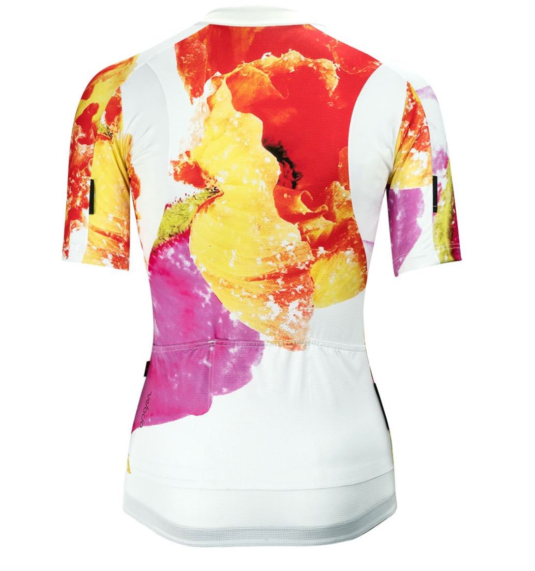 VELOCIO WOMENS JERSEY ULTRALIGHT FLORAL