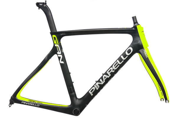 PINARELLO FACTORY FRAME SET GAN RS 53 YELLOW/BLACK