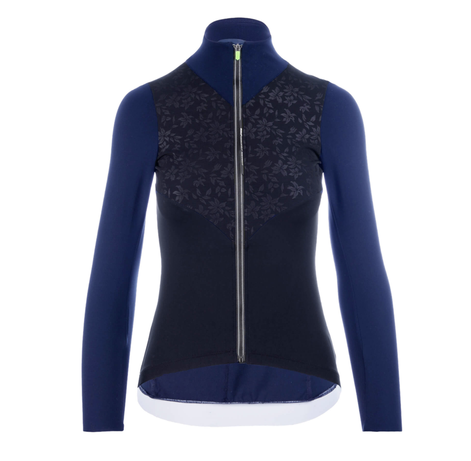 Q36.5 WOMENS JERSEY LONG SLEEVE NAVY LACE