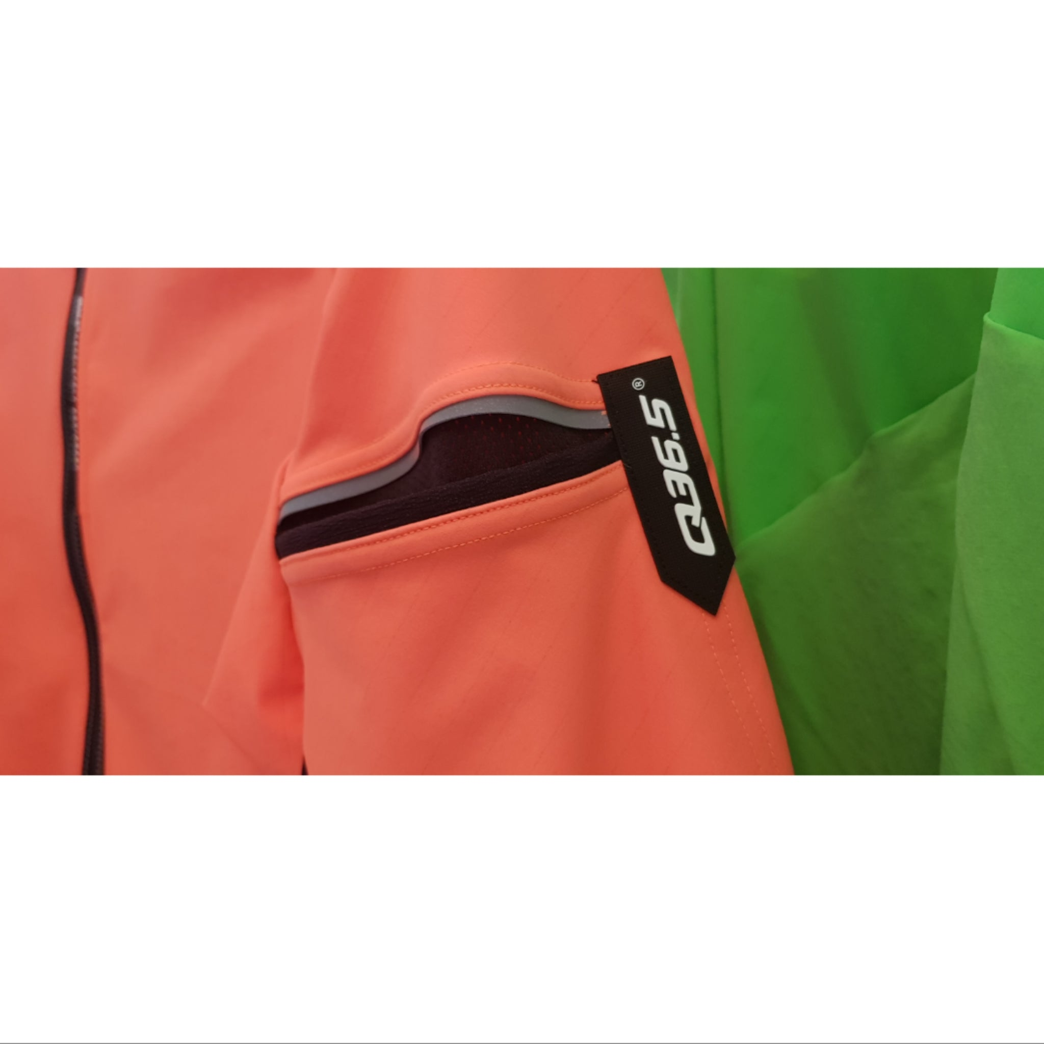 Q36.5 MENS JERSEY LONG SLEEVE HYBRID QUE ORANGE